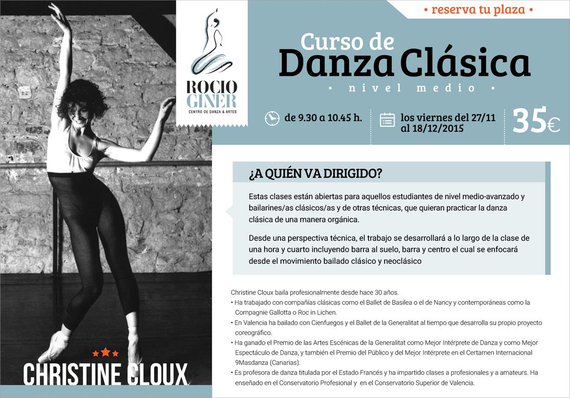 Curso de Danza Clásica en Valencia