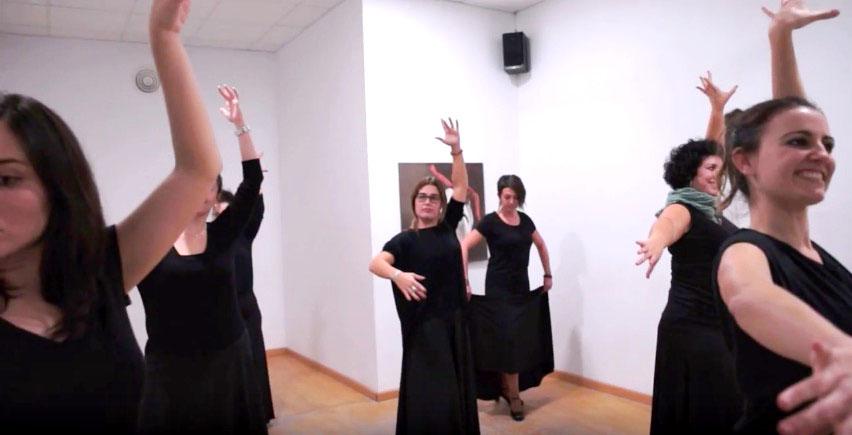 mannequin challenge centro danza rocio giner