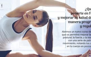 curso de pilates Valencia