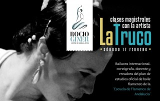 clases magistrales flamenco en Valencia La Truco