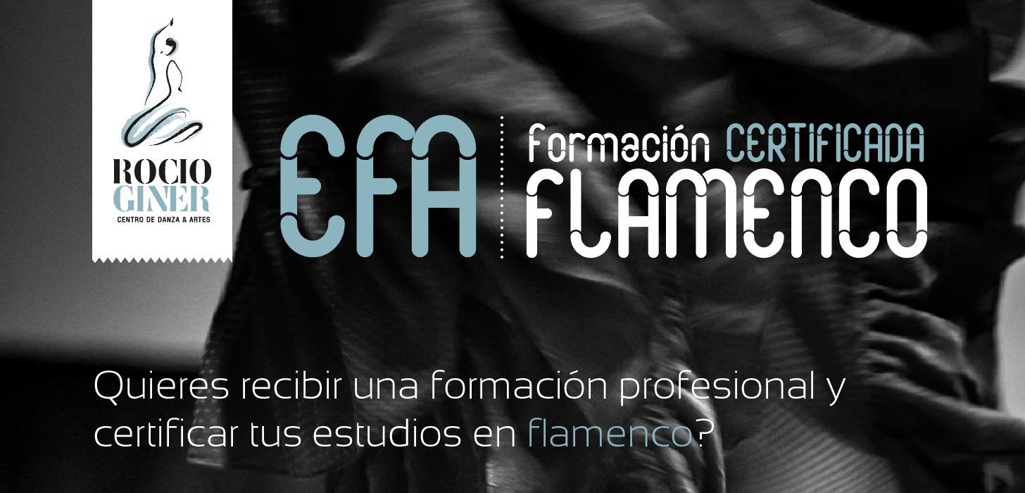 EFA – Formación certificada en Flamenco