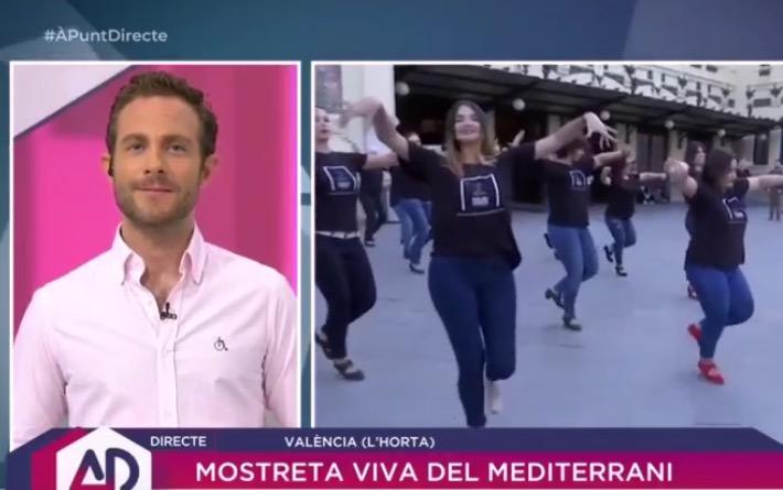 Batucada flamenca en la Estación del Norte