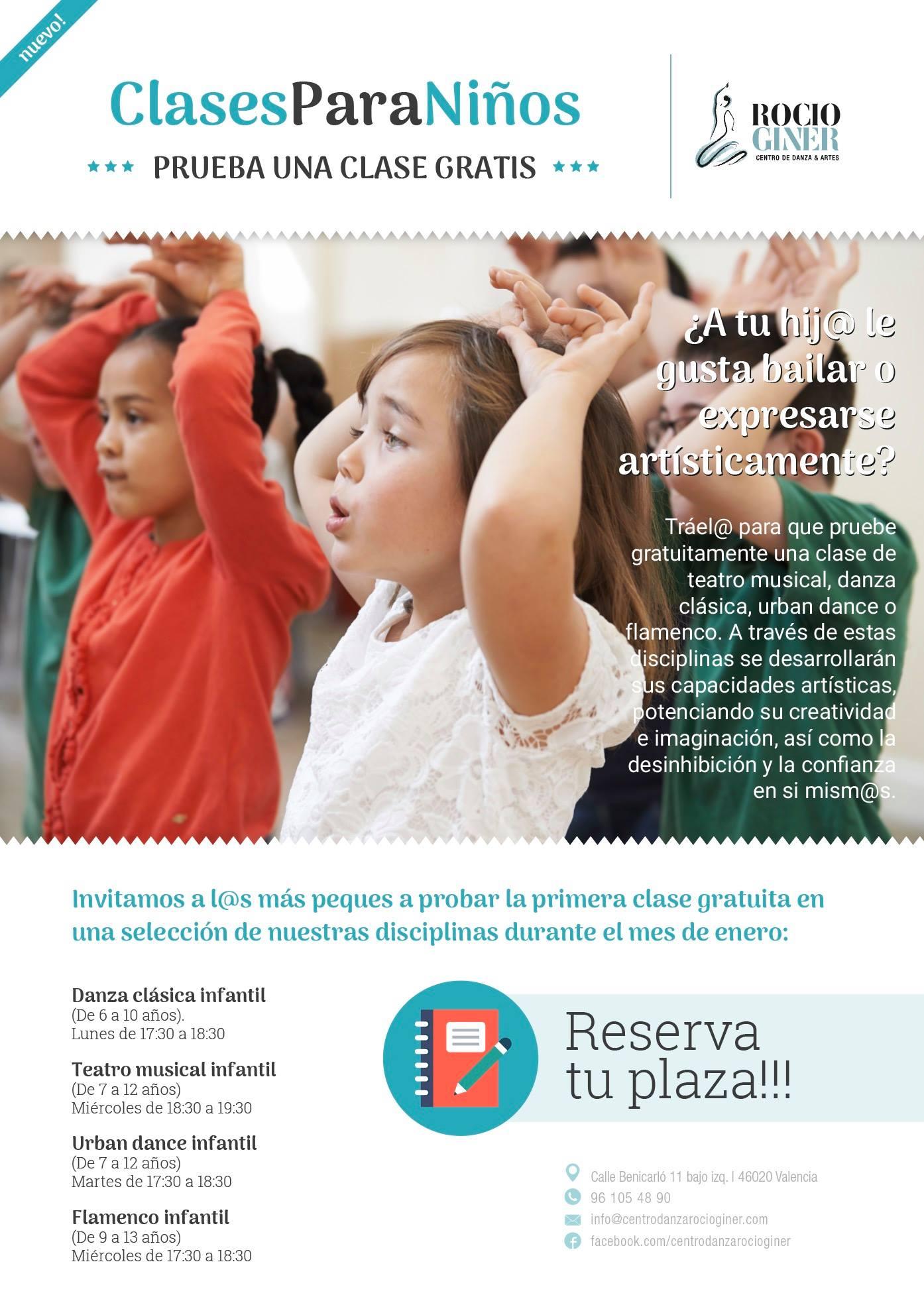 clases de baile para niños Valencia