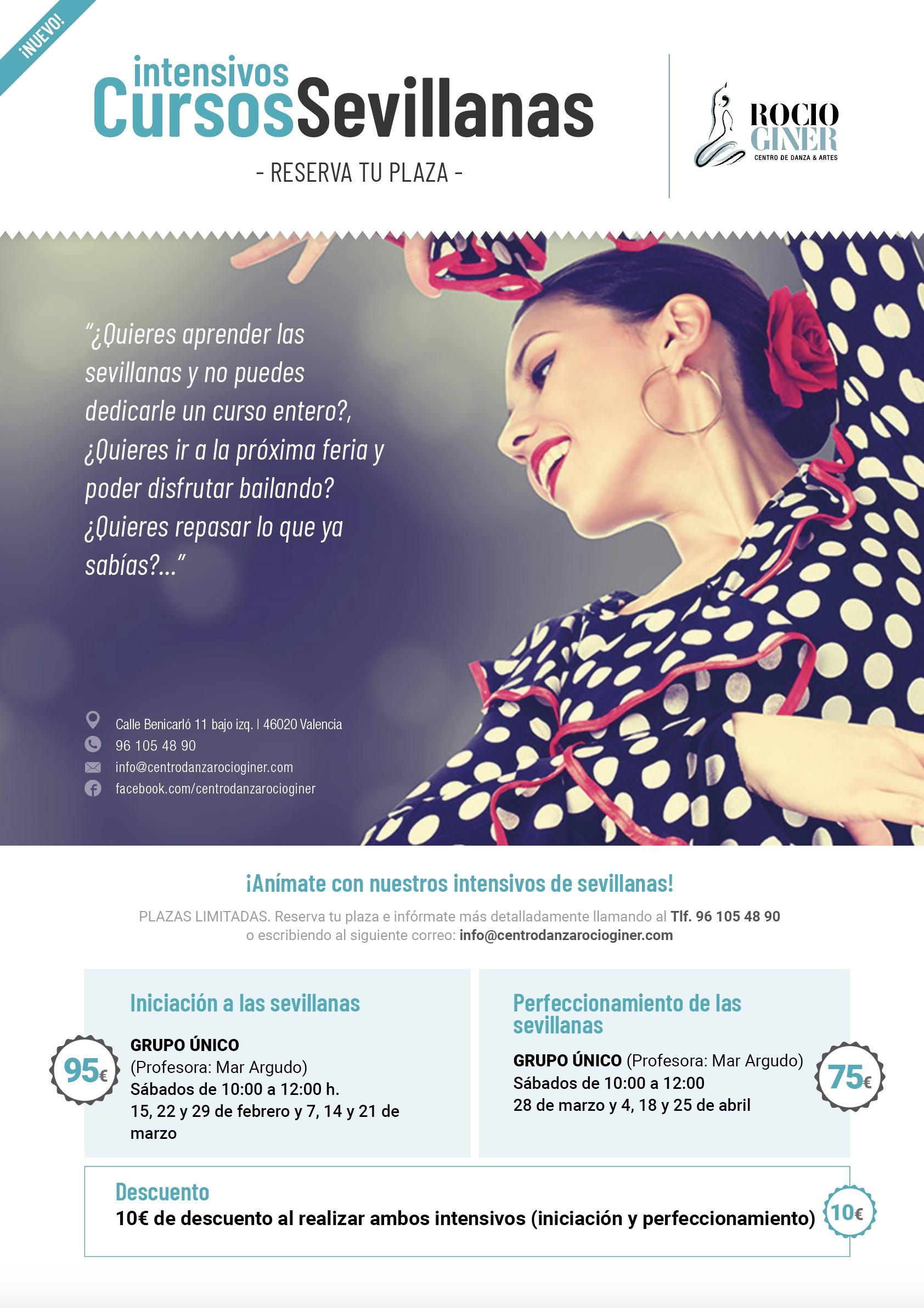 cursos sevillanas en Valencia