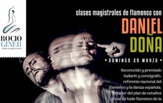 clases de flamenco con Daniel Doña